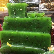 Green Chilly Halwa (Kozhikodan Halwa)