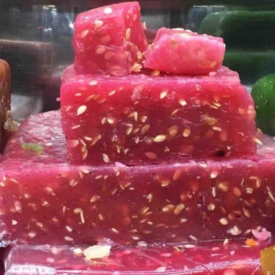 Watermelon Halwa (Kozhikodan Halwa)