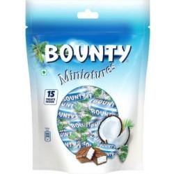 Bounty Miniatures Chocolate 150g