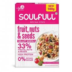 Soulfull Fruits,Nuts,Seeds Millet Muesli